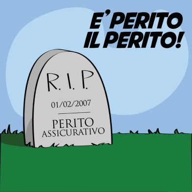 Illustration of a cartoon tombstone with R.I.P written on it.